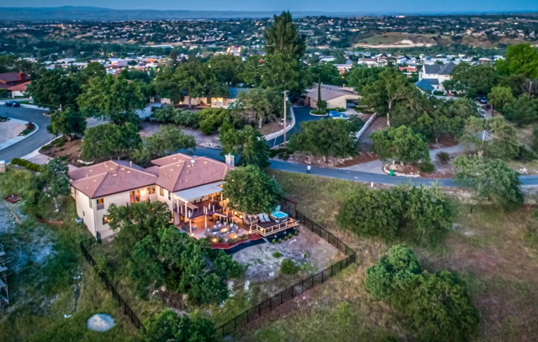 Hilltop Hacienda - Exterior - Aerial Shot - City Side