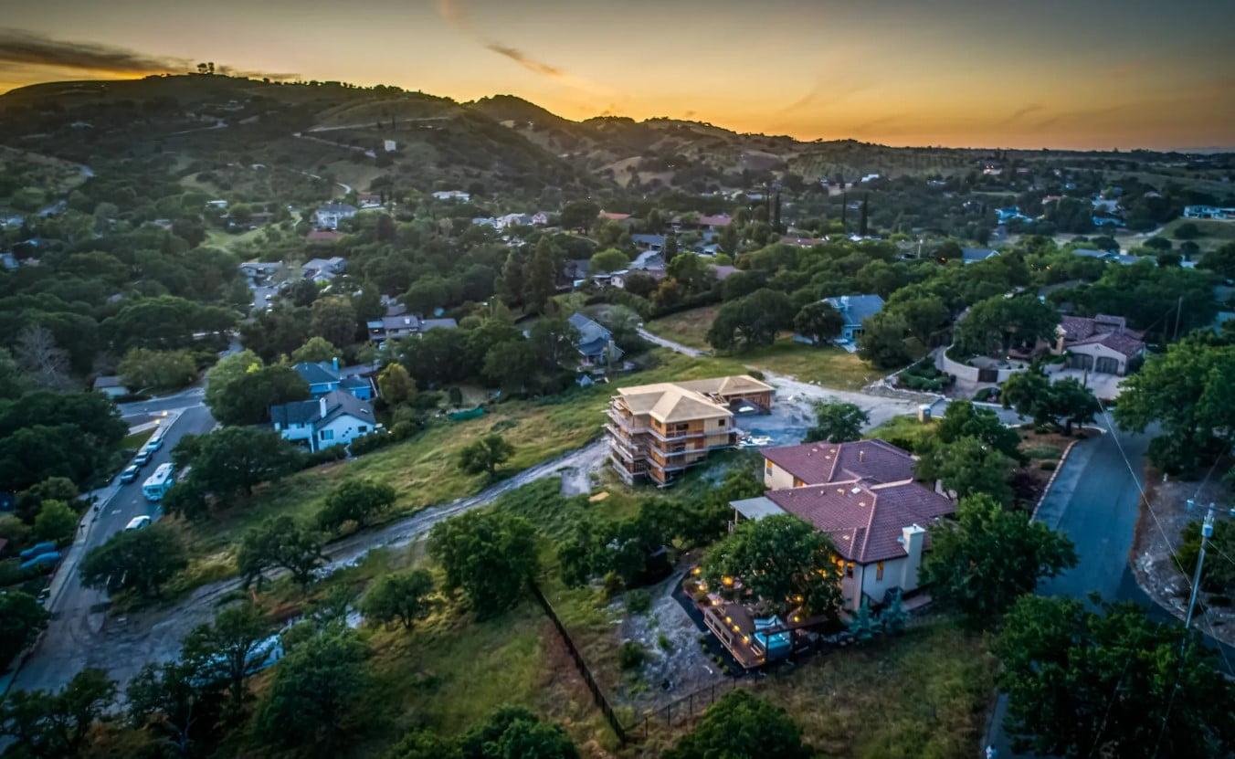 Hilltop Hacienda - Exterior - Aerial Shot