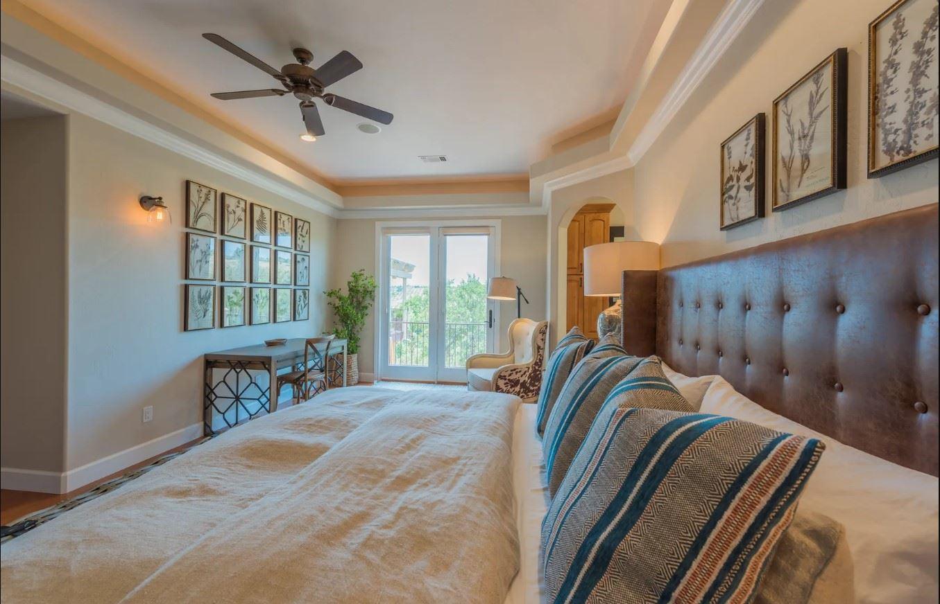 Hilltop Hacienda - Interior - Bedroom with View