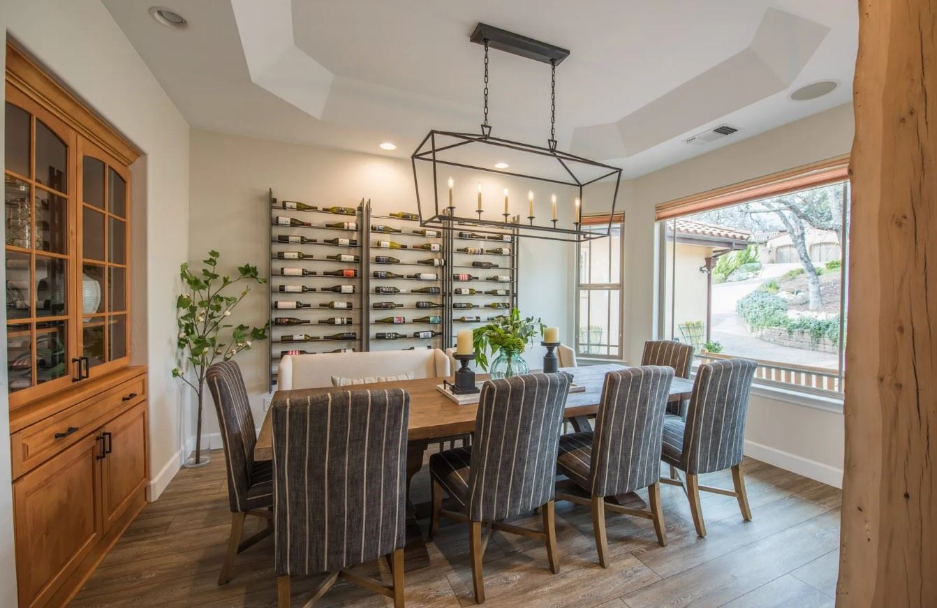 Hilltop Hacienda - Interior - Dining Room with seating for 9