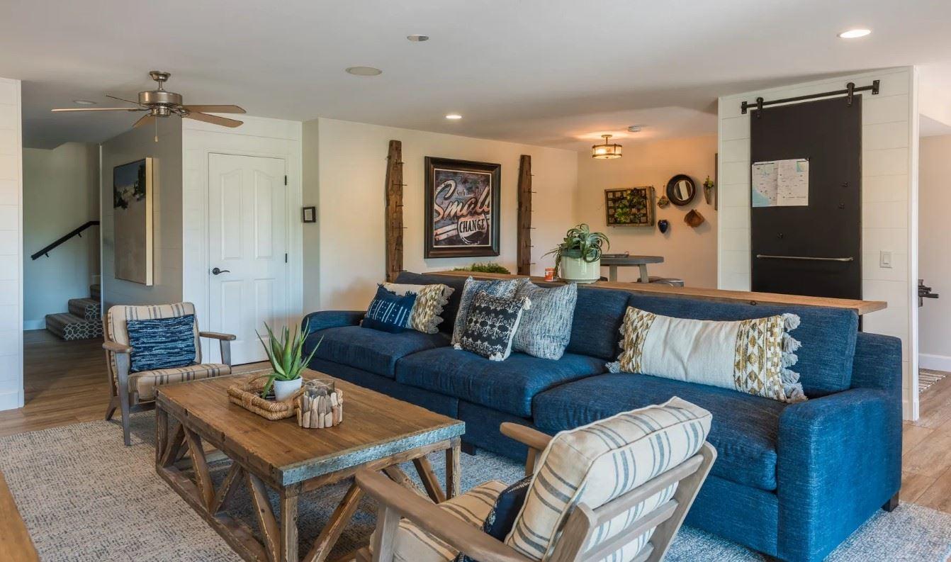 Hilltop Hacienda - Interior - Living Area in second floor