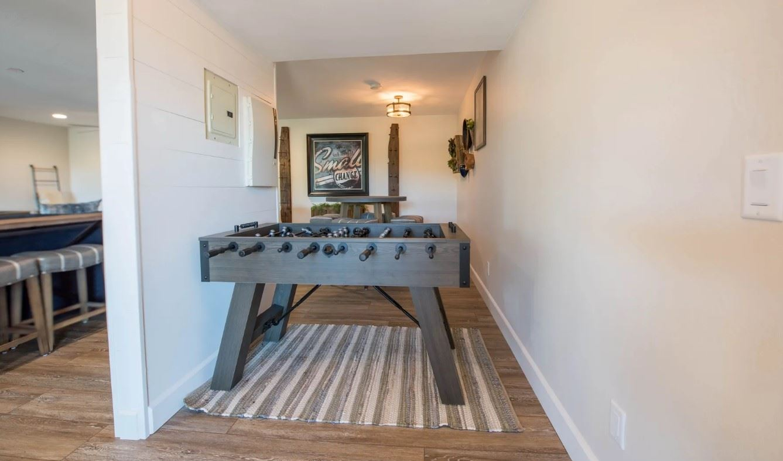 Hilltop Hacienda - Interior - Living Area with Phooseball Table