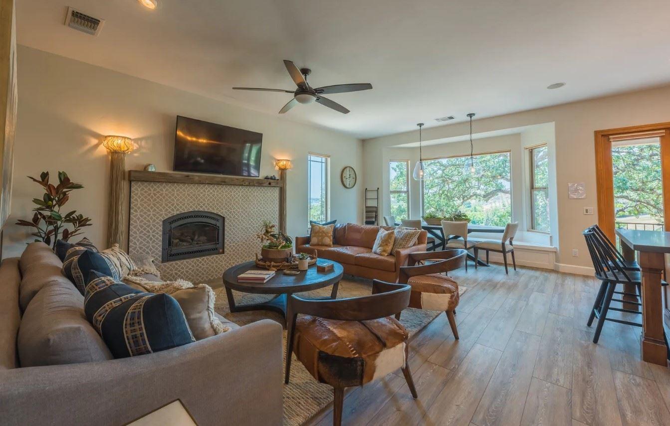 Hilltop Hacienda - Interior - Living Room