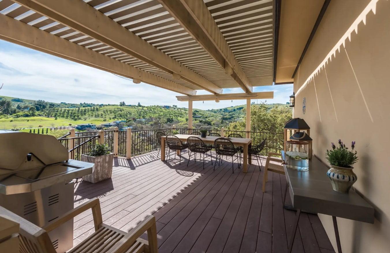 Hilltop Hacienda - Porch Seating Area