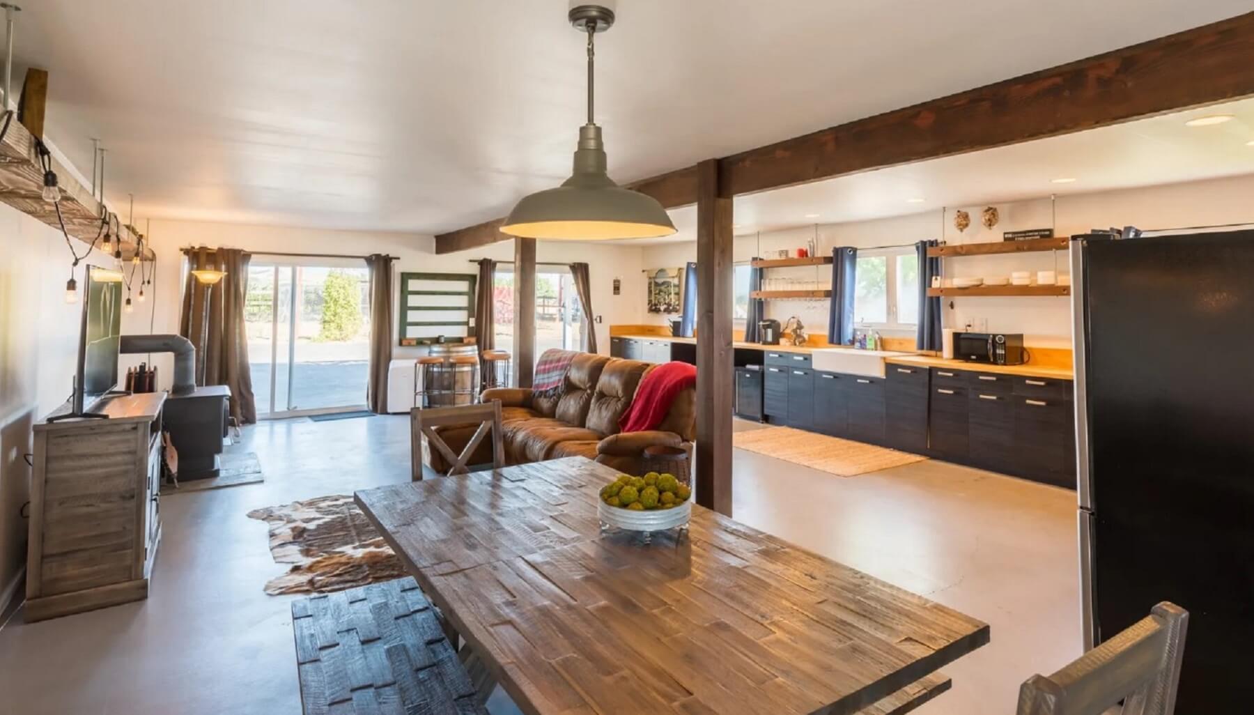 Rancho Da Hamilton - View from Dining Area