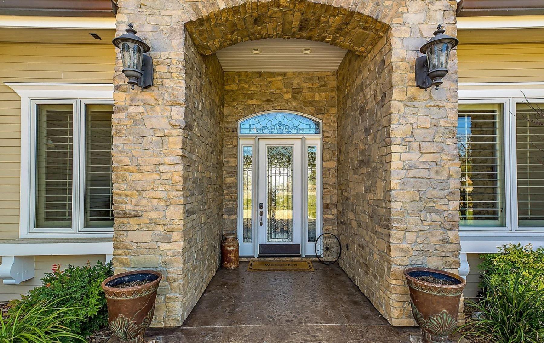 Frontier Farmhouse - Exterior - Entrance