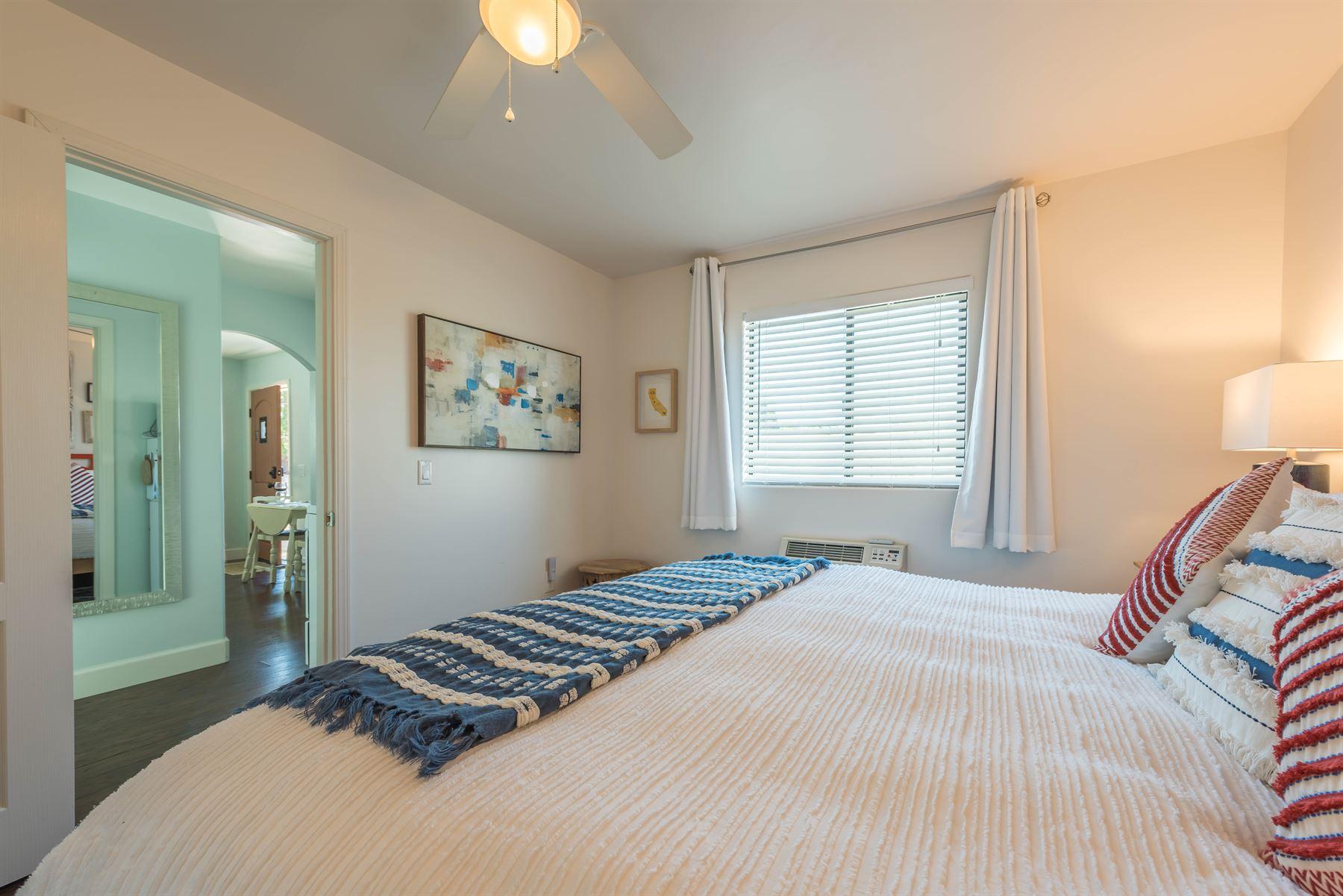 Wine County Casita - Interior - View from Bedroom towards hallway