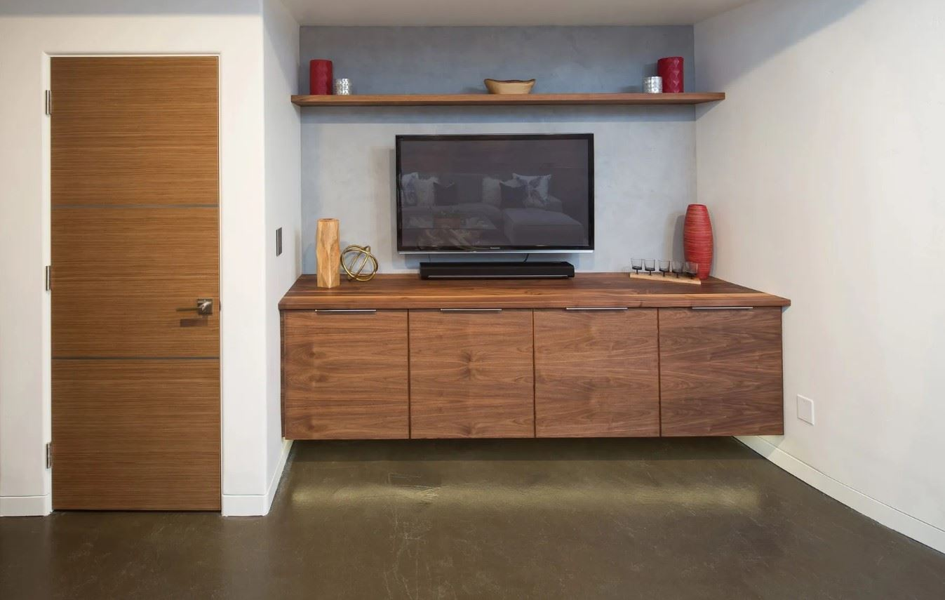 Avila Beach Retreat - Interior - TV and Entertainment Center