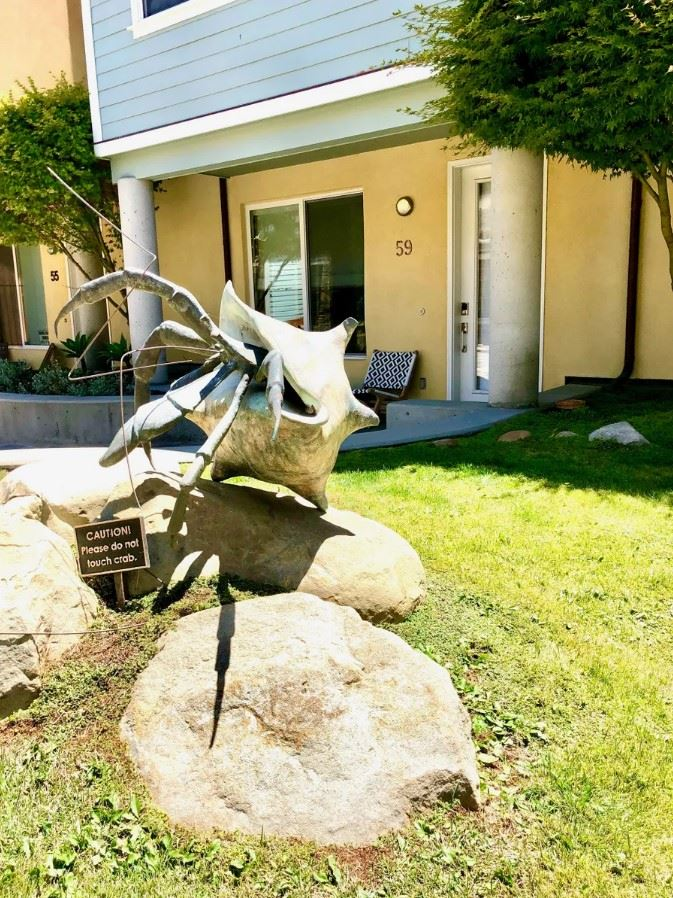 Avila Beach Retreat Statue