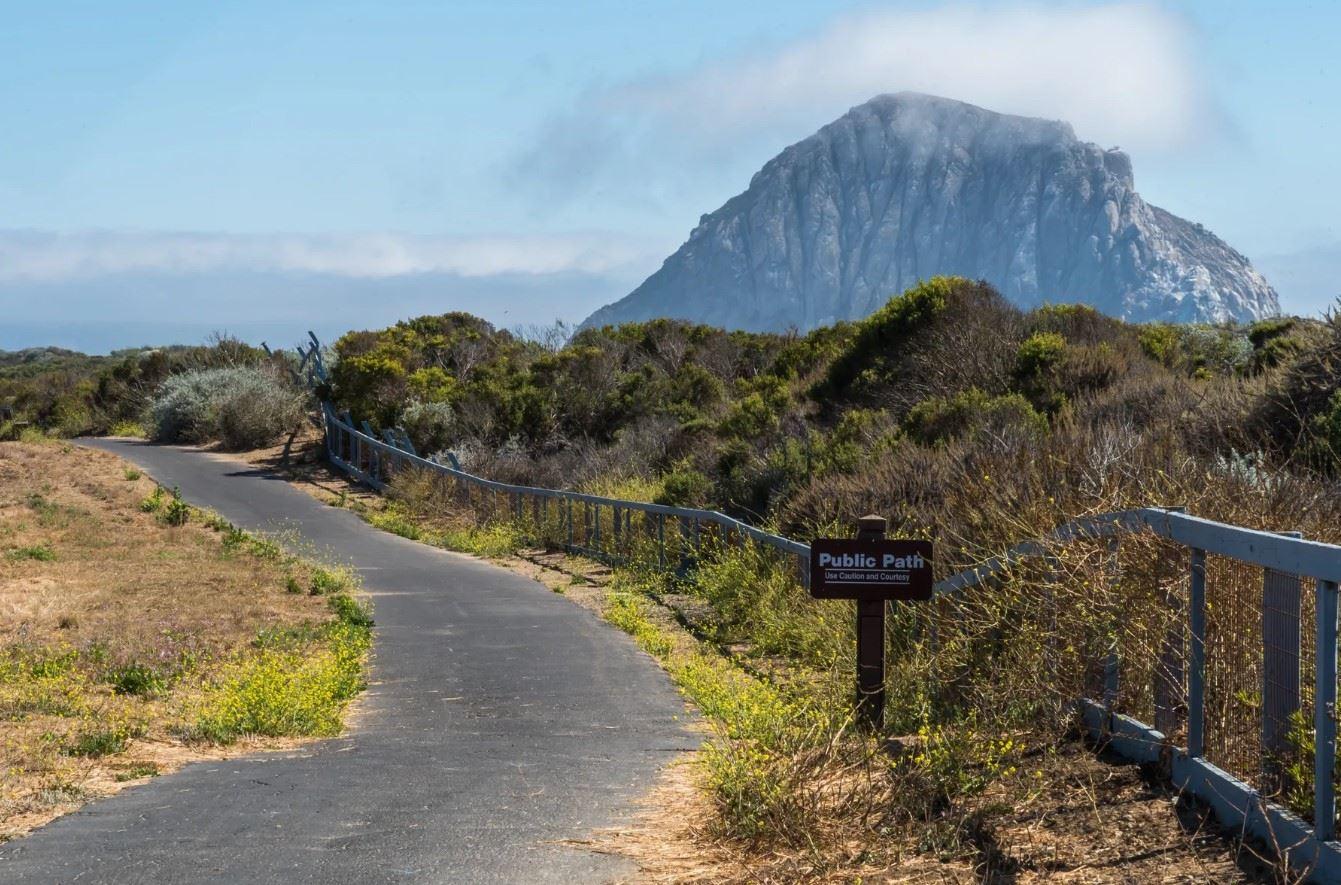 Morro Bay Rock Revival - Exterior - Shot of local hiking paths to Morro Rock
