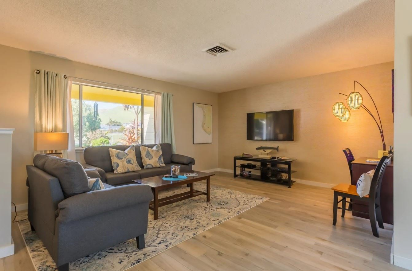 Morro Bay Rock Revival - Interior - Front living room
